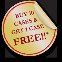 Buy 10 - get 1 free